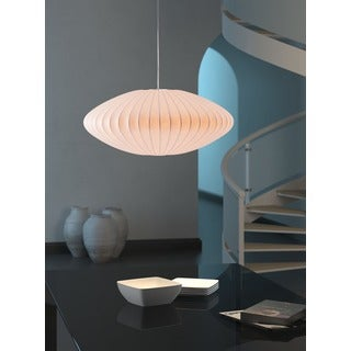 Ageostrophic 6-light White Ceiling Lamp