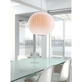 Geostrophic 5-light White Ceiling Lamp