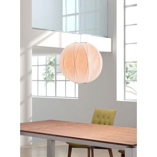 Coriolis 1-light White Ceiling Lamp