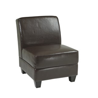 Ave Six Milan Eco-leather/ Wood Chair