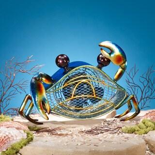 Blue Crab Figurine Fan