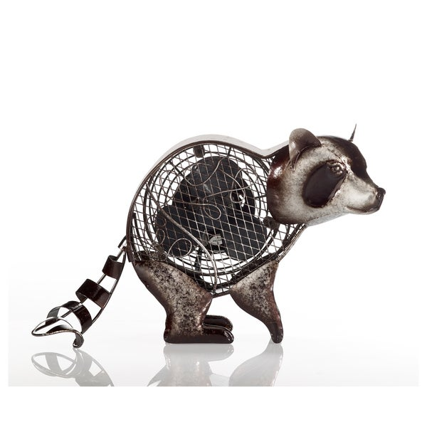 Raccoon Figurine Fan