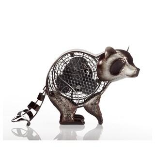 Raccoon Figurine Fan