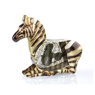 Deco Breeze DBF1935 Zebra Figurine Fan