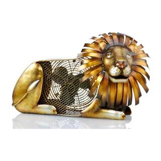 Deco Breeze DBF1934 Lion Figurine Fan