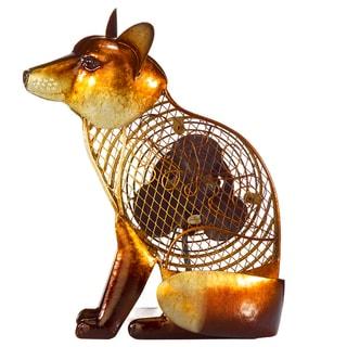 Fox Figurine Fan
