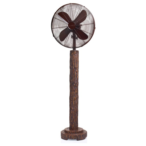 16inch Fir Bark Floor Fan
