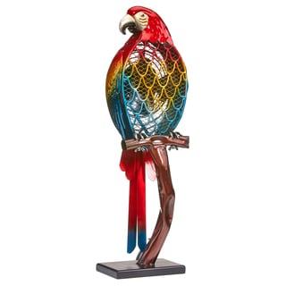 Small Parrot Figurine Fan