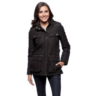 Tommy Hilfiger Women's Black Quilted Jacket