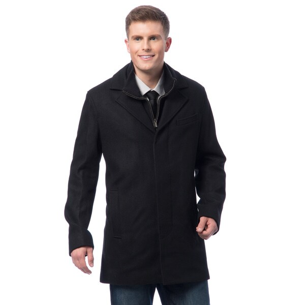 Cole Haan Men's Wool Melton Coat