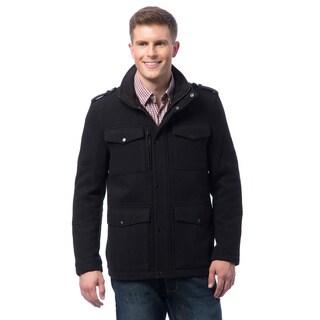 Kenneth Cole Men's Wool 4-pocket Coat