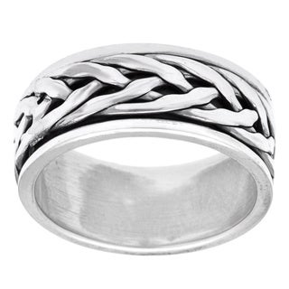 Irish Braided Love Knot Band