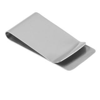 Zodaca Silver Stainless Steel Silver Slim Pocket Money Clip