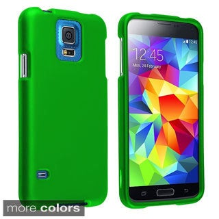 BasAcc Colorful Snap-on Rubber Cover Hard Case for Samsung Galaxy S5 SV
