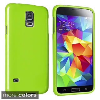 BasAcc Colorful TPU Rubber Gel Skin Cover Case for Samsung Galaxy S5 SV