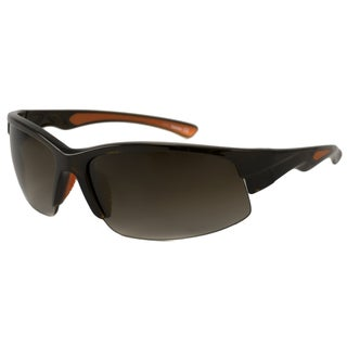 Timberland Men's TB9048 Polarized/ Wrap Sunglasses