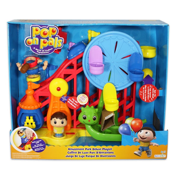 Pop On Pals Boy's Amusement Park Playset