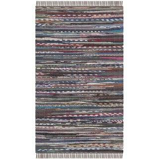 Safavieh Hand-woven Rag Rug Rust Cotton Rug (2' x 3')