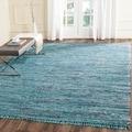 Safavieh Hand-woven Rag Rug Blue Cotton Rug (4' x 6')