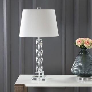 Safavieh Indoor 1-light Crystal Ice Palace Crystal Table Lamp