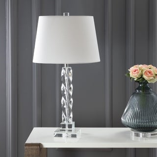 Safavieh Indoor 1-light Crystal Ice Palace Crystal Table Lamp