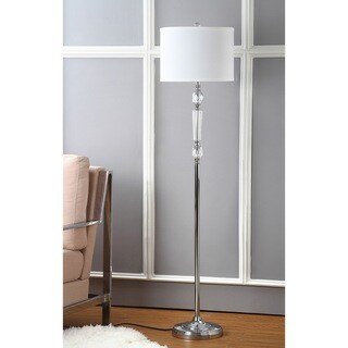 Safavieh Indoor 1-light Crystal Fairmont Floor Lamp