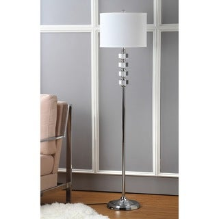 Safavieh Indoor 1-light Crystal Lombard Street Floor Lamp