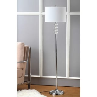 Safavieh Indoor 1-light Crystal Vendome Floor Lamp