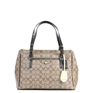 Coach Peyton Signature Jordan Double Carryall