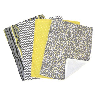 Trend Lab 5-piece Nursing Cover and Burp Cloth Set in Hello Sunshine