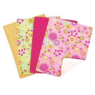 Trend Lab 5-piece Nursing Cover and Burp Cloth Set in Sherbet