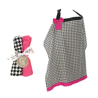 Trend Lab 5-piece Nursing Cover and Burp Cloth Set in Serena