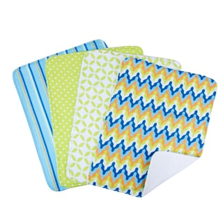 Trend Lab 5-piece Nursing Cover and Burp Cloth Set in Levi