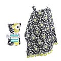 Trend Lab Waverly 5-piece Nursing Cover and Burp Cloth Set