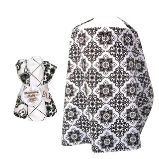 Trend Lab 5-piece Nursing Cover and Burp Cloth Set in Versailles
