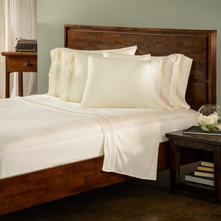 Roxbury Park Triple Gold Baratto Stripe 6 piece Sheet Set