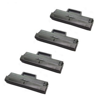 Compatible Samsung MLT-D111S/XAA MLT-D111 Toner Cartridge For Samsung SL-M2020W M2070W M2070FW Printers (Pack of 4)