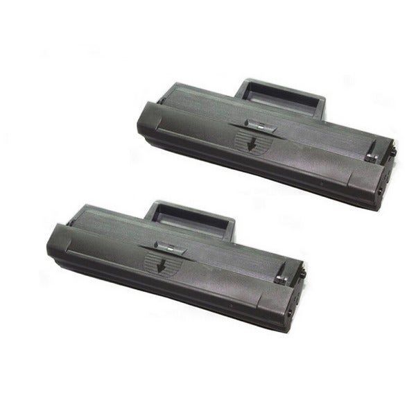 Compatible Samsung MLT-D104S Toner Cartridge for ML-1660 1661 1665 1666 1667 1675 1860 1861 1864 1865W SCX-3200 SCX-3205 2-Pack