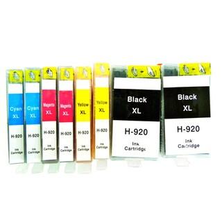 8-Pack Replacing HP 920XL CD975AN CD972AN CD973AN CD974AN Ink Cartridge For OfficeJet 6000 E609 6500 6500 7000 E910 7500ac