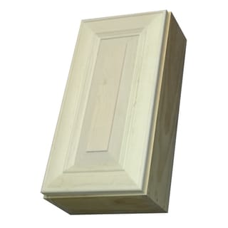 Andrew series 29 inch narrow deep wall cabinet overstock for Kitchen cabinets 16 inches deep