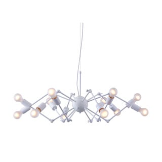 Sleet 12-light White Modern Ceiling Lamp