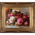 Pierre-Auguste Renoir Discarded Roses Hand Painted Framed Canvas Art
