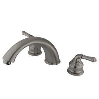 Satin Nickel Roman Tub Filler Faucet