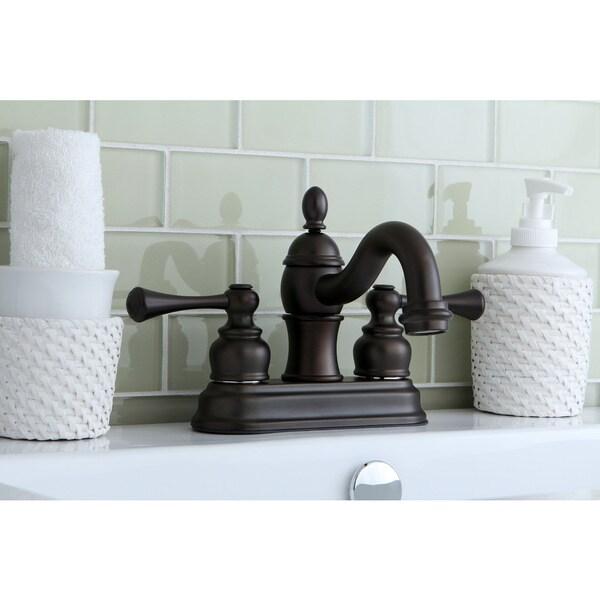 Victorian Spout Oil Rubbed Bronze Bathroom Faucet