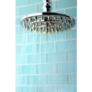 Rainfall Chrome/Polished Brass 6-inch Shower Head