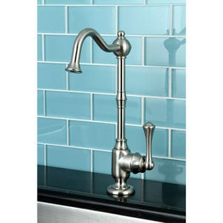Single-handle Satin Nickel Replacement Drinking Water Filteration Faucet