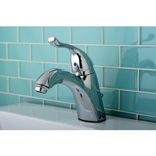 Chrome Single-lever Handle Bathroom Faucet