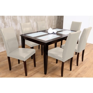 Warehouse of Tiffany's 7-piece Cream Shino Dining Set