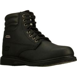 Men's Skechers Work Relaxed Fit On Site SR Black