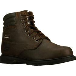Men's Skechers Work Relaxed Fit On Site SR Brown